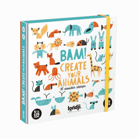 Stempel-Set - Bam! Animals