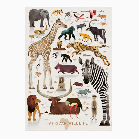 Poster - African Wildlife