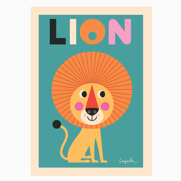 Poster - Lion