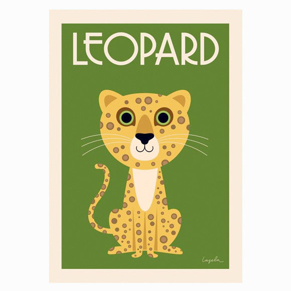 Poster - Leopard