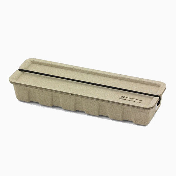 Stiftebox - Pulp Storage Pen Case beige