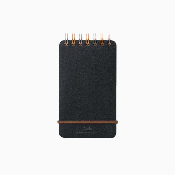 Notizblock - Grain Memo Black
