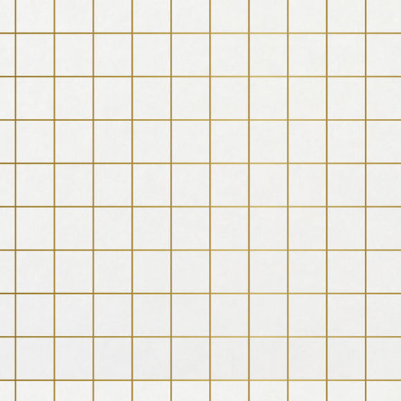 Seidenpapier - Grid gold 5er-Set