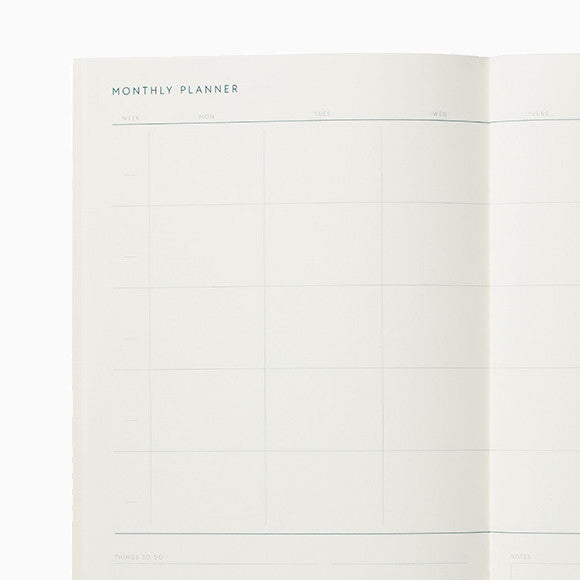 Kalender - Monthly Planner Notebook NEU