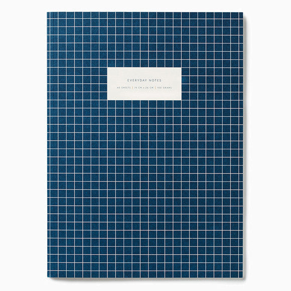 Notizbuch - Notebook Check dark blue