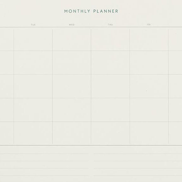 Kalender - Monthly Planner Notepad