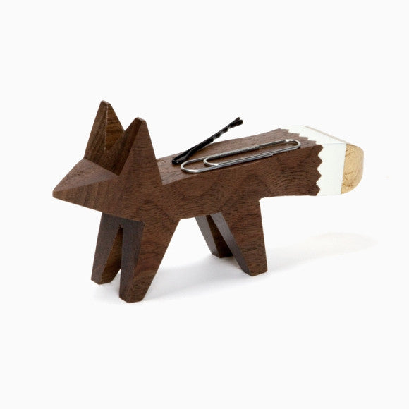 Klammernspender - Fox Clip Holder Gold