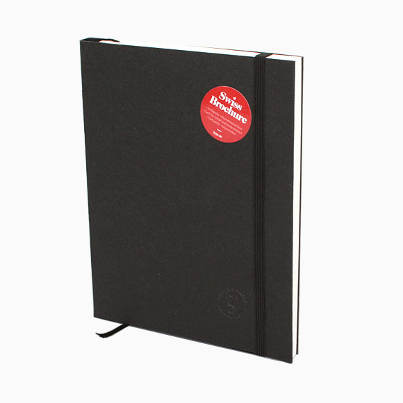 Notizbuch - Swiss Brochure black
