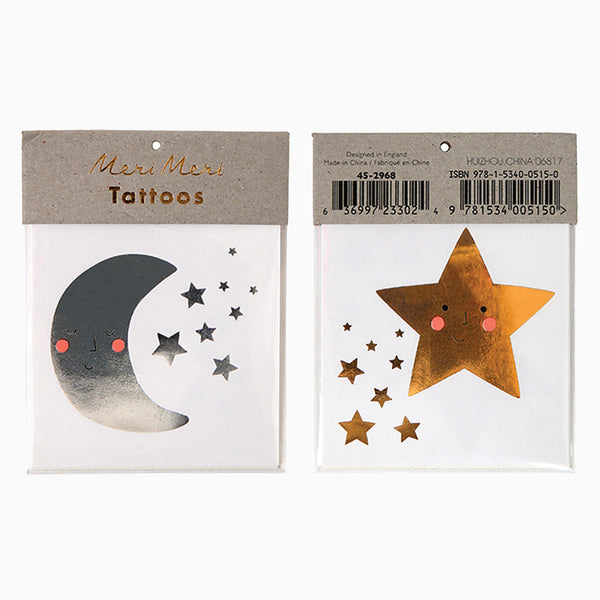Tattoos - Star & Moon