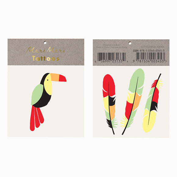 Tattoos - Toucan