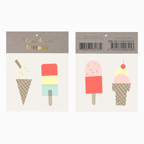 Tattoos - Ice Lolly