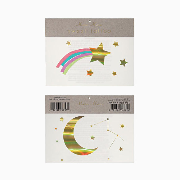 Tattoos - Rainbow Shooting Star