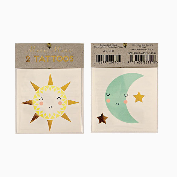 Tattoos - Sun & Moon