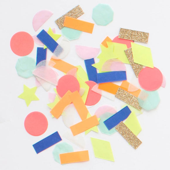 Confetti - Rainbow Party Confetti Shapes