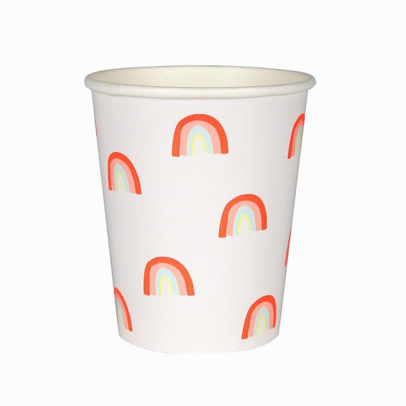 Pappbecher - Party Cups Mini Rainbow
