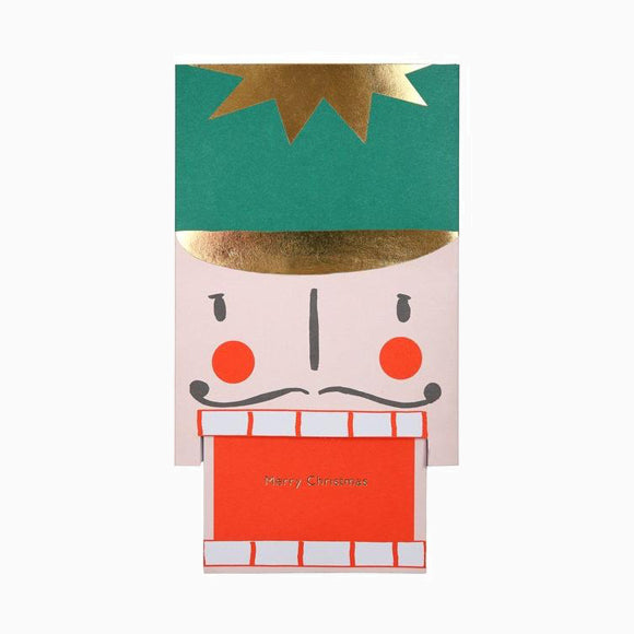 Grußkarte - Nutcracker Head Card