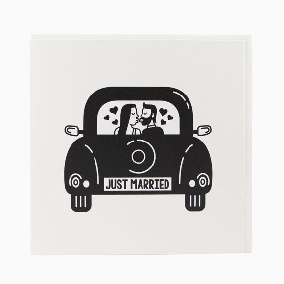 Grußkarte - Just Married