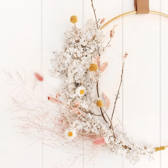 Workshop - Flower Wallhanging Dried Flowers 2 22. Februar 2020