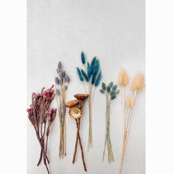 Workshop - Flower Wallhanging Dried Flowers 28. November 2020