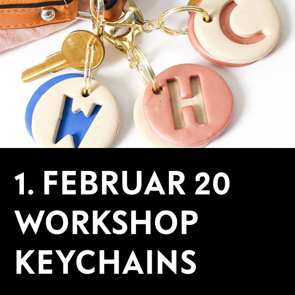 Workshop - Keychains 1. Februar 2020