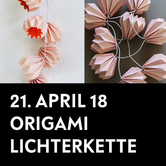 Workshop - Blüten-Lichterkette 21.4.2018