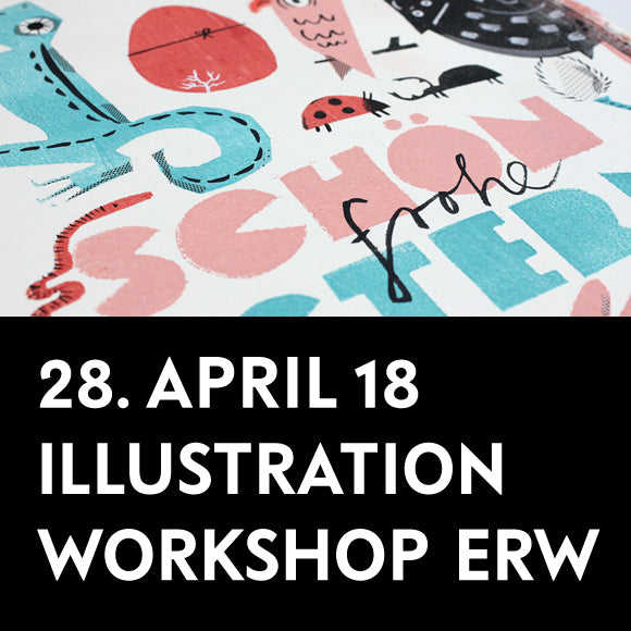 Workshop - Illustrationen 28. April 2018 Erwachsene