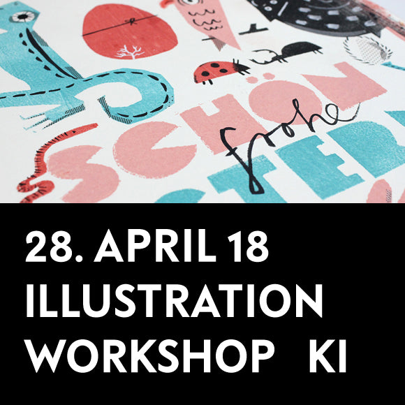 Workshop - Illustrationen 28. April 2018 Kinder
