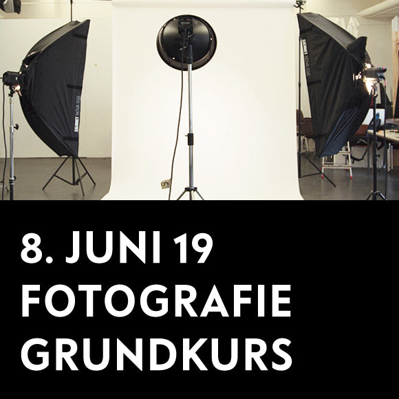 Workshop - Fotografie Grundkurs  8. Juni 2019