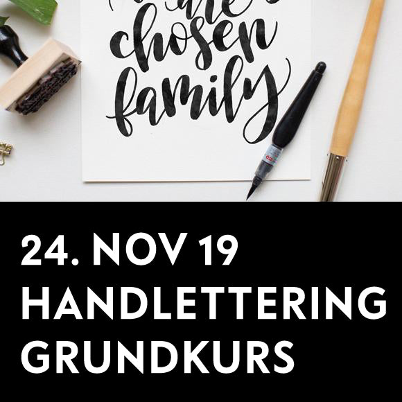 Workshop - Handlettering Einsteiger 24. Nov. 2018