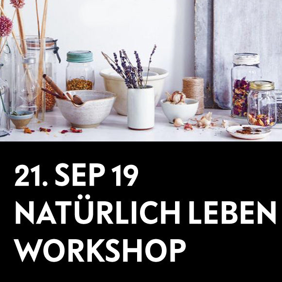 Workshop - DIY Küchenhelfer 21. September 2019