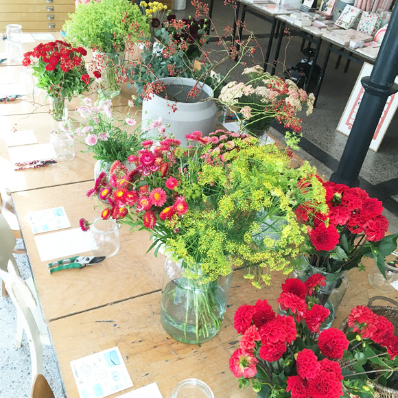 Workshop - Blumen Blumen Blumen 28. September 2019