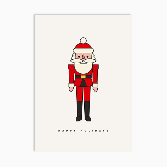 Postkarte - Happy Claus
