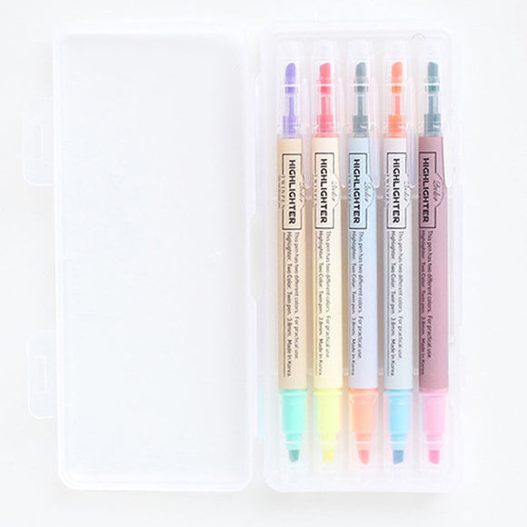 Textmarker-Set - Highlighter Twinpen