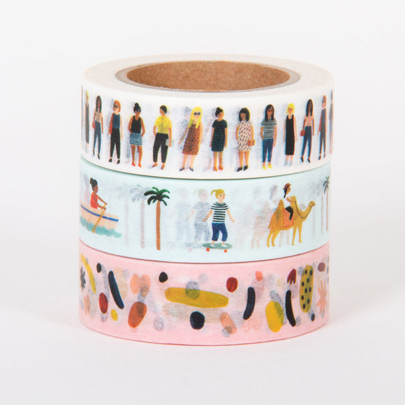 Masking-Tape 3er-Set - Femme Collection