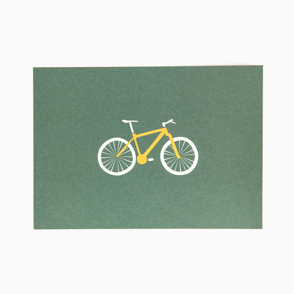 Postkarte - Mountainbike