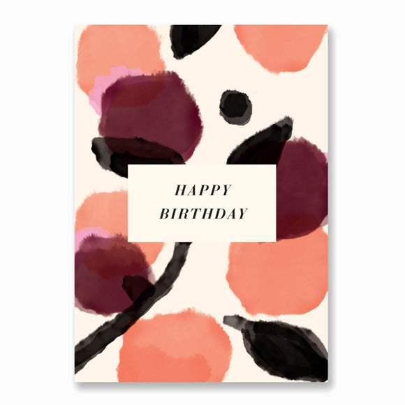 Postkarte - Virginia Happy Birthday