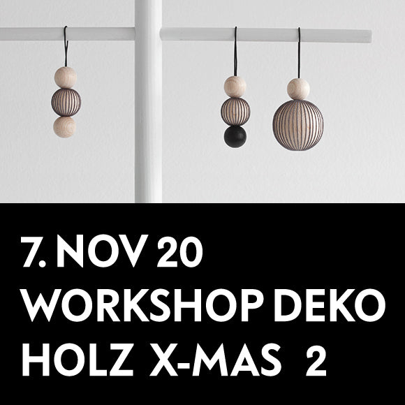 Workshop - Holz Deko X-Mas 2 7. November 2020