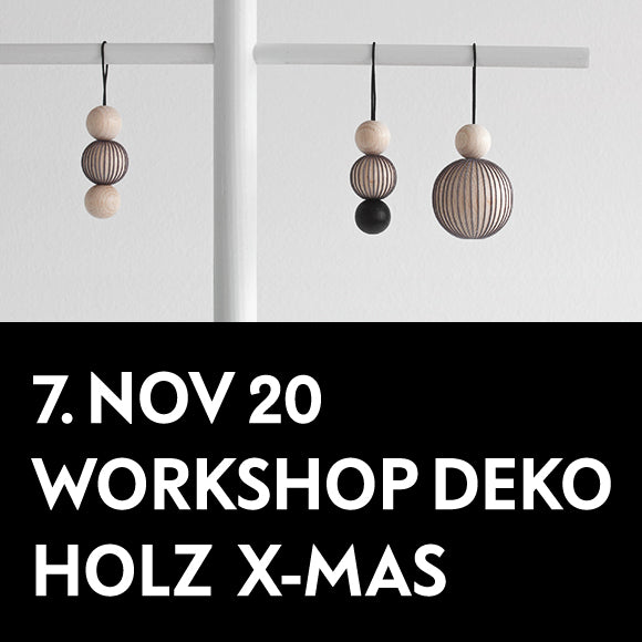 Workshop - Holz Deko X-Mas 7. November 2020