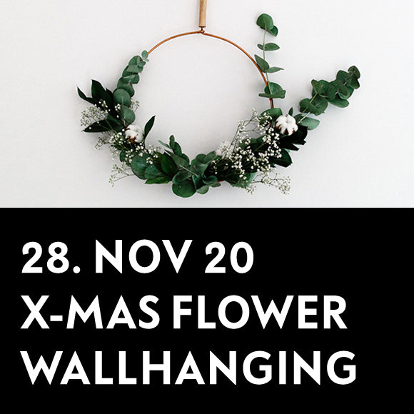 Workshop - Flower Wallhanging 28. November 2020