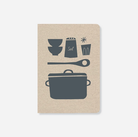 Notizbuch - Notebook Kitchen