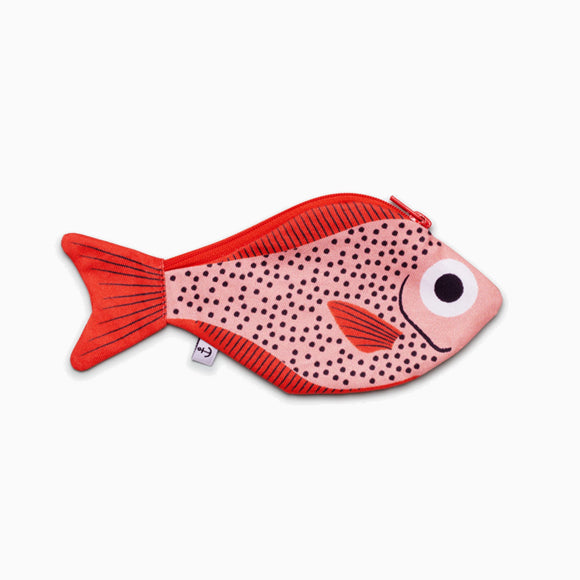 Portemonnaie - Pink Sweeper Fish waterproof