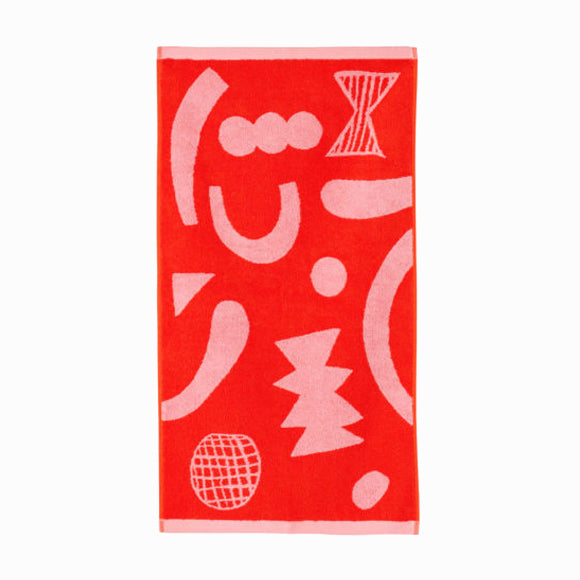 Handtuch - Abstract Shapes Hand Towel