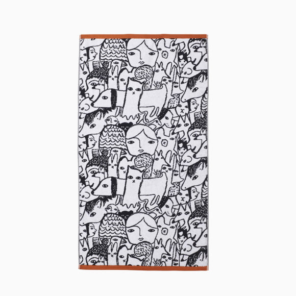 Handtuch - Folk Bath Towel