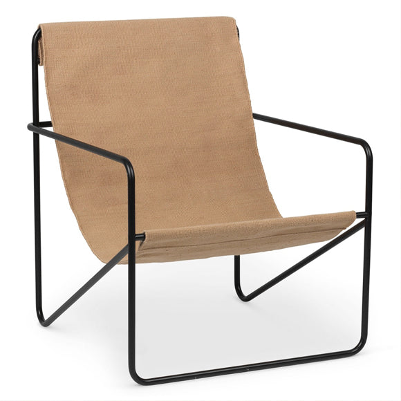 Stuhl - Desert Chair black/solid chashmere