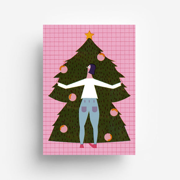 Postkarte - Christmas Tree