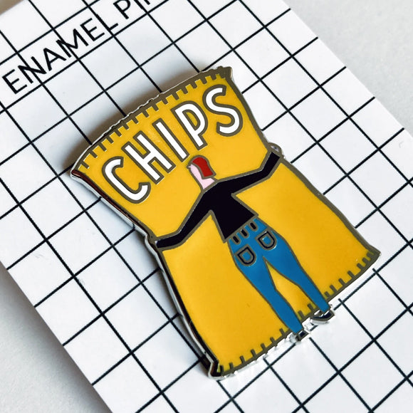 Anstecker - Chips Pin