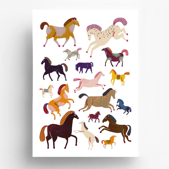 Poster - Horses