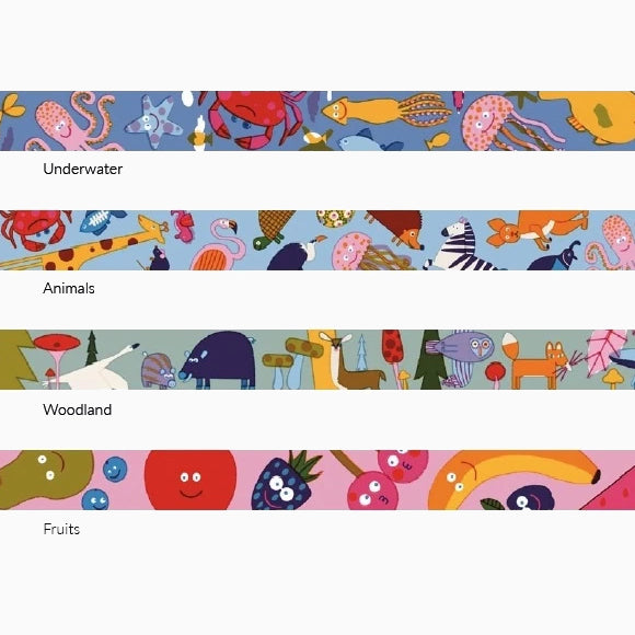 Masking Tape - Washi Tape Woodland Animals