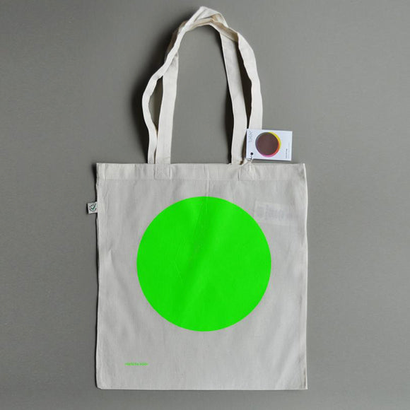 Baumwolltasche - Tote Bag Green Dot