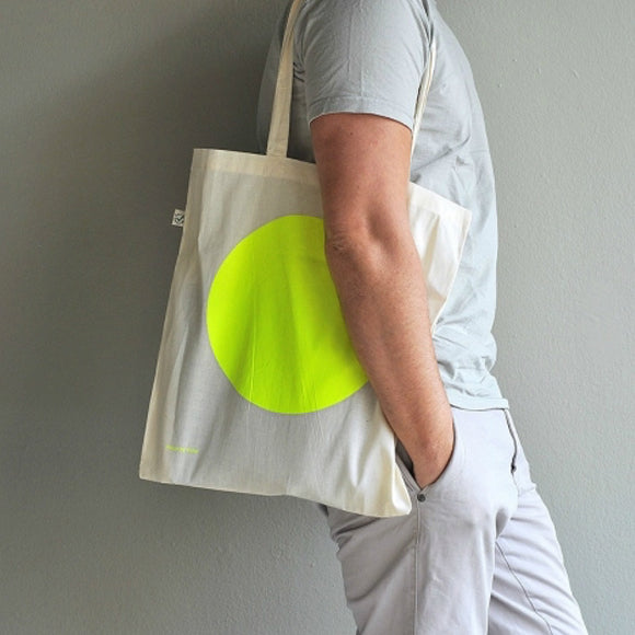 Baumwolltasche - Tote Bag Yellow Dot